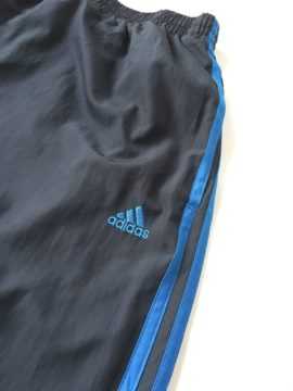 Adidas jogging basketball blue L