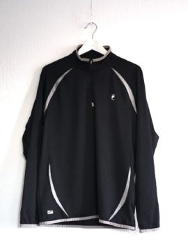 Fila 1/4 Zip training noir M