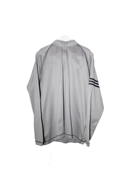 Adidas zip sweater silver