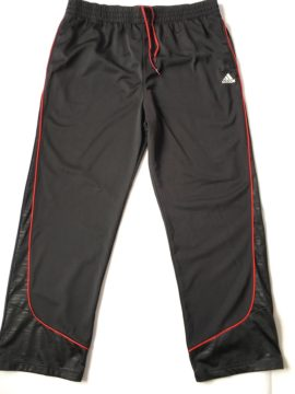 Jogging Adidas basketball noir